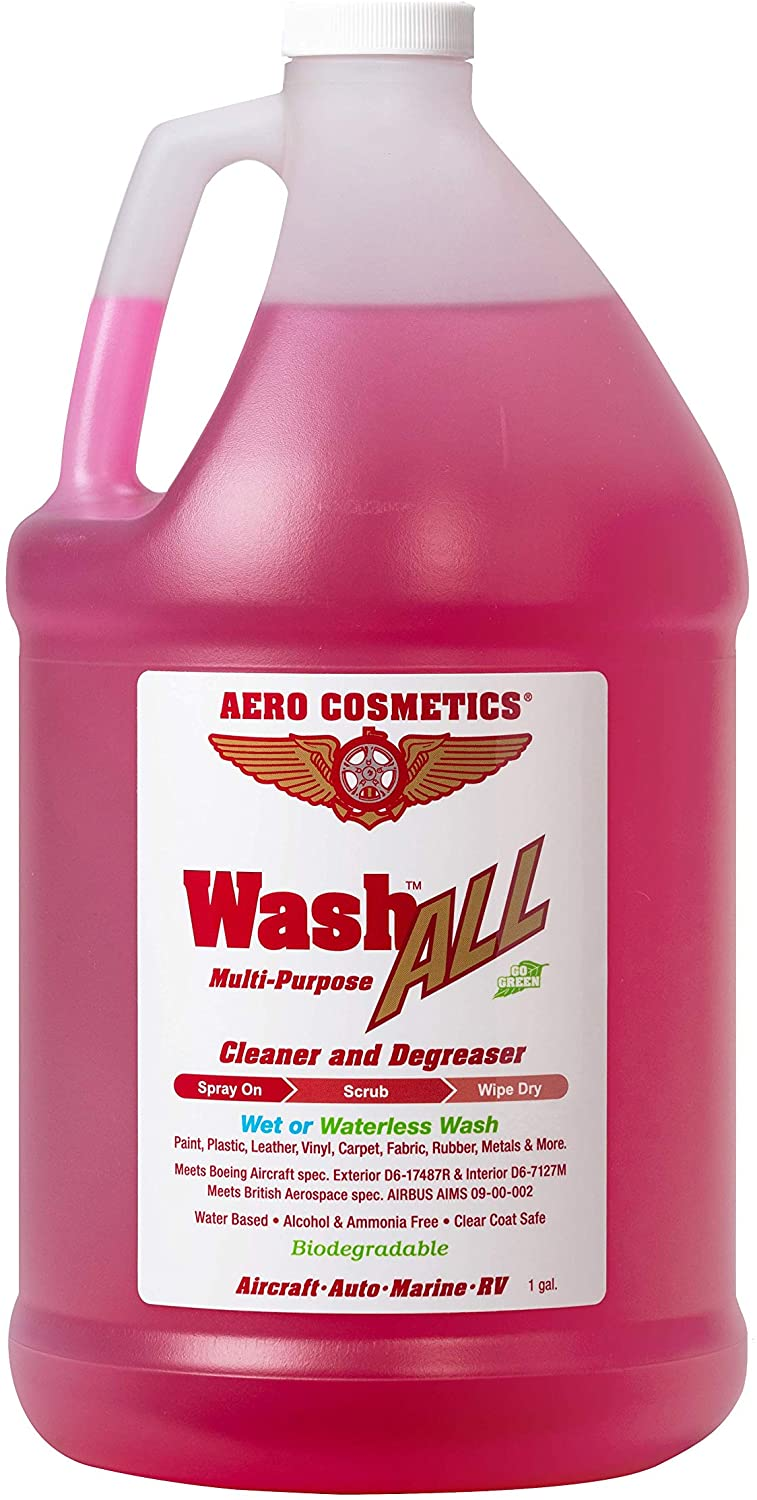 Aero Cosmetics Wash All Multi-Purpose the best engine degreaser and cleaner