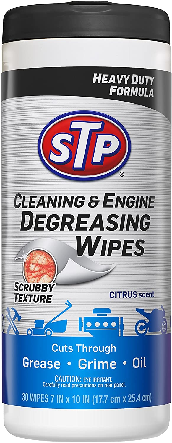 STP Car & Engine Cleaner Wipes the best engine degreaser