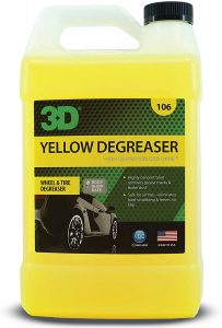3D yellow degreaser wheel & tire cleaner
