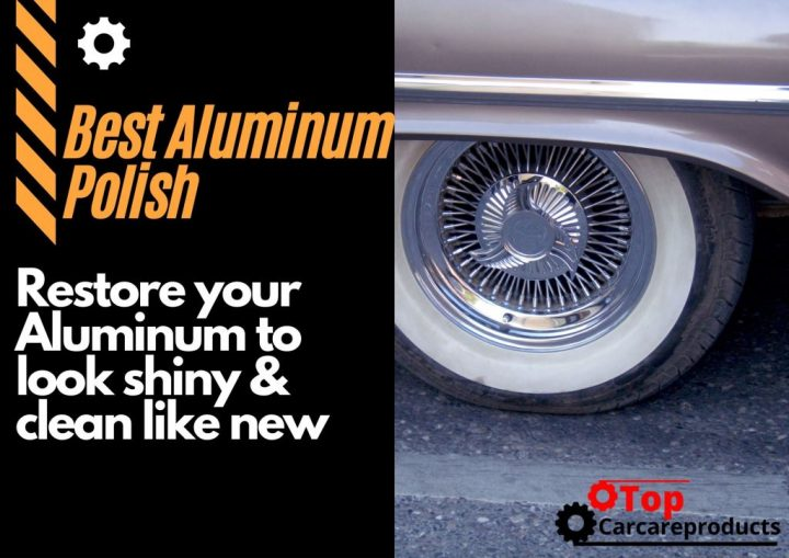 Cleaned aluminum surface with the help of the best aluminum polish